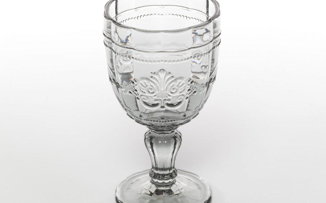VILLA D'ESTE | Syrah calice in vetro colorato (grigio)