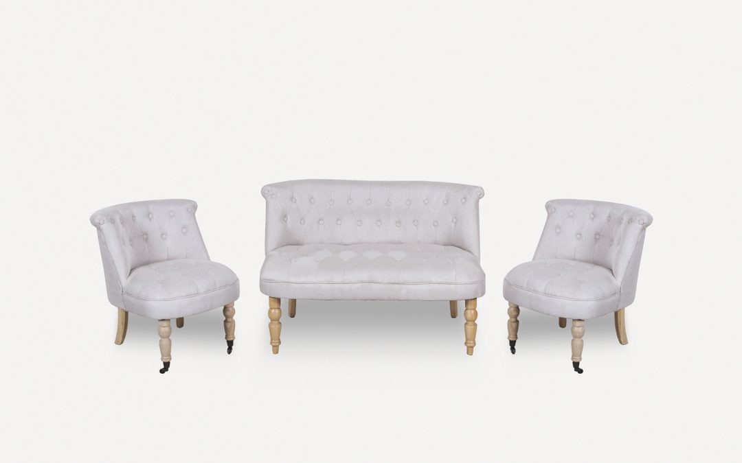 Salotto moderno bianco