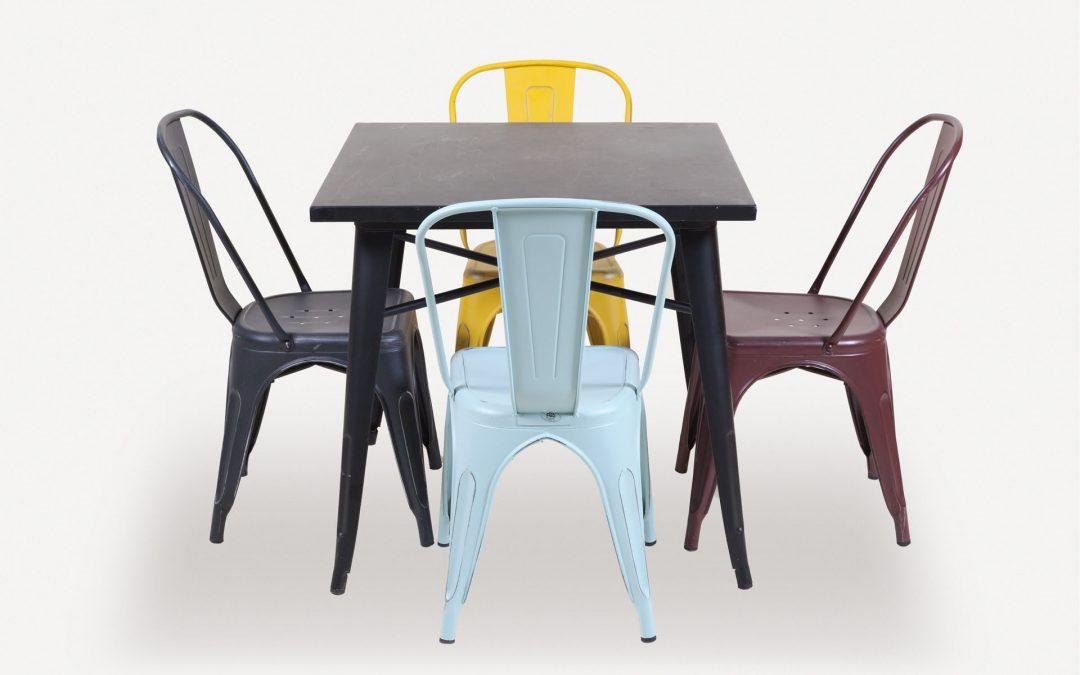 "Set Tavolo + sedie Urban ""Colors"""