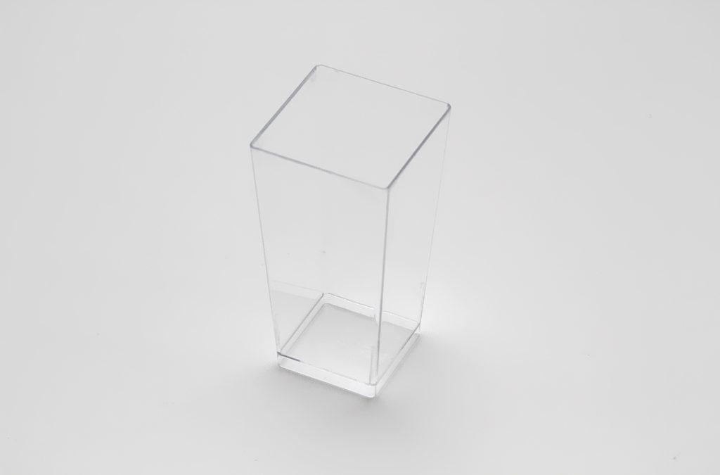 Bicchierino quadrato alto